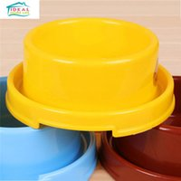 Wholesale Cute Non Slip Pet Dog Feeder Bowl Anti Ant Doggie Dish Puppy Bowl High Quality Plate