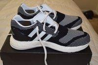 al por mayor impulso y3-2016 la mejor calidad Y-3 PURO Primeknit ZG Kint Puro impulso Y3 tamaño del zapato corriente del pureboost Hombre eur 36-45 envío libre