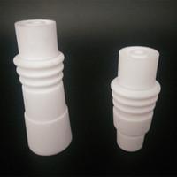 Wholesale Highy Quality Ceramic E Nail For Glass Bong mm Femle Ceramic D Nail dab Vs Quartz naisl Titanium Nails