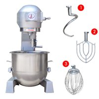 bakery mixers - 220V Dough Mixer Automatic Egg Beater Bakery L Commercial Dough Food Mixer