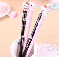 Wholesale Korean students supplies cute kitty cat kitten Clover gel pen office supplies pilot pen papeleria lapices gel stationery