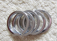 Wholesale 316L Stainless Steel mm mm Diameter Big O Rings for Key Chain Usuage Stainless Steel DIY Jewelry Accessory