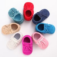 Wholesale 2016Newest colorful Baby Girl Knit Faux Fleece Boot Soft Sole Kids Wool Baby