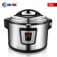 Wholesale Restaurant used big size L easy used multifunction electric cooker pressure cooker