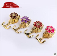 Wholesale Europe Style Curtain Hook Lotus Flower New Several Colors