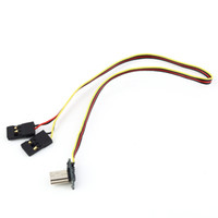 bec connector - USB degree Connector to AV Video Output V DC Power BEC Input Cable Line FPV for GoPro Hero3