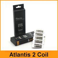Les bobines de atlantis Prix-Atlantis V2 Bobines Atlantis 2 Bobines 0.3ohm 0.5ohm 1.0ohm Sub Ohm Bobines de remplacement pour Atlantis V1 V2 Mega Vaporisateur Clone