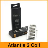 Precio de Bobinas atlantis v2-Las bobinas de repuesto Atlantis Atlantis V2 Bobinas Bobinas 2 0.3ohm 0.5ohm 1.0ohm Sub ohmios para Atlantis V1 V2 Mega vaporizador Clon