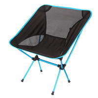 Wholesale Ultra Light Beach Chair Outdoor Camping Portable Folding Lightweight Chair For Hiking Fishing Picnic Barbecue Vocation Casual