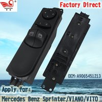 benz sprinter - Factory Direct Left and Front Master Electric Auto Power Main Window Switch Apply for BENZ SPRINTER VIANO VITO Pins