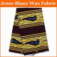 Wholesale African hollandais real dutch wax for wedding dress sewing yards High quality African wax prints fabric