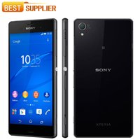 Wholesale 2016 Real for Original Unlocked Sony Xperia Z3 D6603 g g Android Quad core gb Ram quot Screen mp Camera
