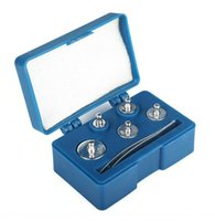Wholesale 5pcs Weight Set Precision Chrome Calibration Weight Kit g g g g g Grams Scale