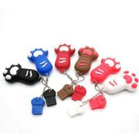 Wholesale Cartoon Foot USB Memory Stick Flash Drives USB Real GB GB GB GB PVC USB Memory Sticks
