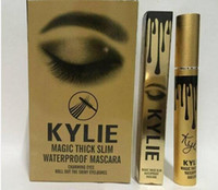 Wholesale New Kylie Jenner makeup mascara cosmetic magic thick slim waterproof mascaras black