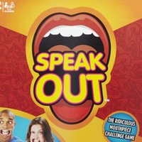 Wholesale Speak Out Game new hot game KTV party newest best selling toy with good toys five per set two