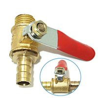 Wholesale 1 quot PEX Brass Ball Valve Full Port Crimp Shut off Valve for PEX Tubing B00087 FASH