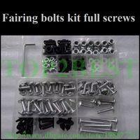 aftermarket yamaha parts - Motorcycle Fairing screw bolts set for YAMAHA YZFR6 YZF R6 black fairings aftermarket bolt screws parts