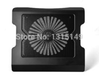 aluminum heat sink material - 2014 Time limited Rushed Freeshipping Stock Single Fans Cooler Laptop Cooling radiator heat Sink Base aluminum And Material material kid