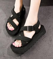adhesive backed foam - Casual Summer Sandals Couple Breathable Open Toed Beach Sandals Foam Bottom Men s Sandals Pure Ribbon Sandals Women