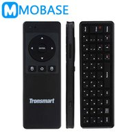 Cheap [Russian Optional] Tronsmart TSM-01 2.4GHz Wireless Keyboard Air Mouse Gaming Accessories for Computer Tablet PC Android TV Box