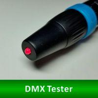 Wholesale CQILED DMX Tester DMX Terminator DMX Tool DMX Indicator XLR3 ohm