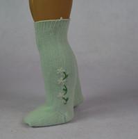 american girl doll socks - 18 inch Kinds of Colors Cotton Material American Girl Doll Socks of American Girl Doll Middle Length Socks