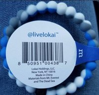 jewelry mounts - livelokai Find Your Balance Neon Silicone Bracelet Brand Original Tag Jewelry Gift Mud from Sea and Mount Everest New colors size