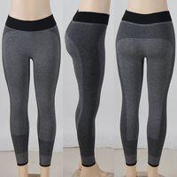 Wholesale Black Hot Yoga Pants Girls High Waist New Fashion Sexy lulu Sportwear Tight Yoga Pant Leggings for Women Jogging