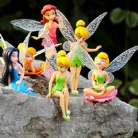 antique collectible figurines - 2016 new sets resin models fairy garden miniatures princess crafts miniature fairy figurines garden decoration