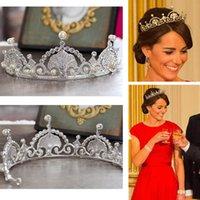 Wholesale Top qualidade luxo clAssico noiva europeia Rhinestone cristal nupcial cabelo Crown Tiara acessorios vestido de noiva