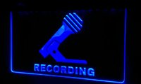 Enregistrement LS205-g Microphone On Air Neon Light Sign