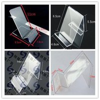 display cell phone - Acrylic cell phone MP3 cigarette DV GPS display shelf Mounts Holders mobile phone display Stands Holder at good price free shippiing
