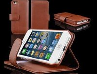 best iphone leather wallet - For Allen new leather phone case packing box cases best quality