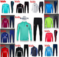 anti pants - New kids PSG Maillot de foot tracksuits survetement football shirts long sleeves tight pants sportswear PSG training suit soccer Uniforms