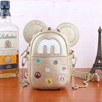 Wholesale Fashion designer cute Mickey Mouse single shoulder bag women bag Bolsa feminina messenger Crossbody handbag