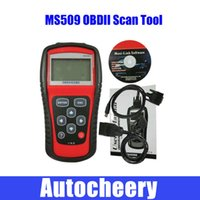 Wholesale MS509 OBD2 code scanner MS509 OBDII EOBD CODE READER auto scanner MS Auto scan tool Engine fault code Automotive Diagnostic Tool