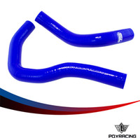 Wholesale PQY Silicone Radiator Coolant Hose Silicone hose kit W logo For HONDA INTEGRA TYPE R X S IS DC5 ACURA RSX K20A PQY LX1312