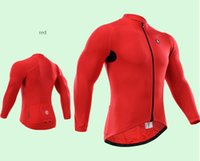 Wholesale High Quality New Breathable Bike Riding Sportwear Men s Long Sleeve Cycling Jersey Cycling Clothing
