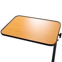 Wholesale Rolling Table Over Bed Laptop Food Tray Hospital Desk With Tilting Top