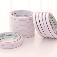 Wholesale An installation of two Deli stationery collodion paper glue double sided tape transparent DIY tape cm