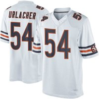 big brian - 2016 Elite new football jerseys Brian Urlacher Player Jersey Embroidery White Blue jerseys Big order for DHL