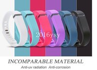 Wholesale Silicone Replacement Rubber Band with Clasp for Fitbit Flex Bracelet Wrist Strap High Quality Colors