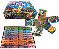 Wholesale 660 box Poke Trading Card Games Pokest Monsters Flash Fire Games Poke Toys Cards for Children Kids Christmas Gifts