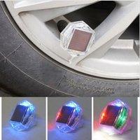 airs led signals - New LED Solar Car Wheel Signal Tire Air Valve External Light Flash Decor Lamp