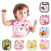 bibs for babies patterns - 10pcs Baby Girl Boy Waterproof Bibs New Animal Cartoon Pattern Toddler Lunch Bibs Burp Cloths For Children Self Feeding Care