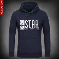 arrow orange - STAR Laboratories Hoodies Hoody Pullover Sweatshirt Sport Sweatshirts Loose Outerwear The Flash Arrow S T A R Labs Clothes Coat