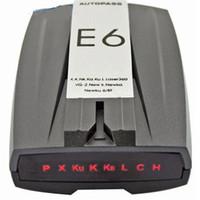 Wholesale Car Radar Detector Support English Russian USB2 Port Radar Detectors Support Band X K Ku Ka Laser VG DHL