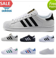 Wholesale Adidas Originals Superstar Supercolor Pack Multi color Men Women Superstars Running Shoes Sneakers Classic Super Star Casual Size