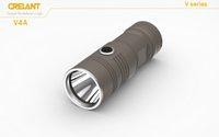 aa led lantern - CRELANT V4A lumen cree led flashlight powerful tactical defense torch AA battery fishing light outdoor camping lantern lamp